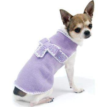 Oscar Newman Take a Bow Sweater-Paws & Purrs Barkery & Boutique
