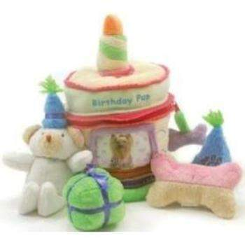Oscar Newman Birthday Surprise Cake Toy-Paws & Purrs Barkery & Boutique