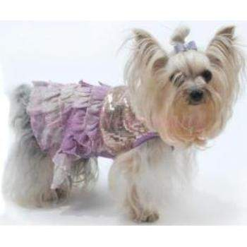 Truly Oscar Bling It On Sequin Tank Dog Dress-Paws & Purrs Barkery & Boutique