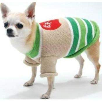 Oscar Newman Monday Night Football Designer Dog Sweater with Football Toy-Paws & Purrs Barkery & Boutique