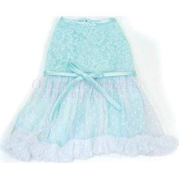Truly Oscar Tiffany Lace Dog Dress-Paws & Purrs Barkery & Boutique