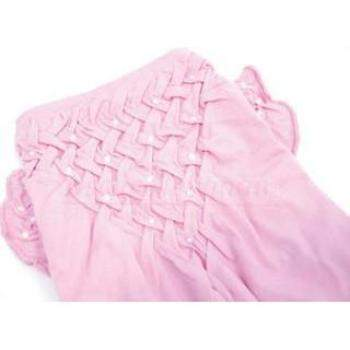 Oscar Newman Think in Pink Hand-Smocked Dog Tee-Paws & Purrs Barkery & Boutique