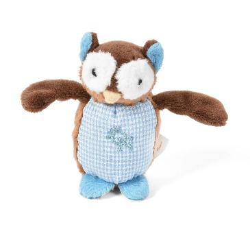 Oscar Newman Owl Pipsqueak Dog Toy-Paws & Purrs Barkery & Boutique