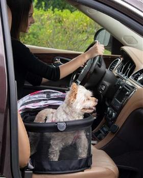 Pet Gear VIEW 360 Floral Pet Carrier & Car Seat-Paws & Purrs Barkery & Boutique
