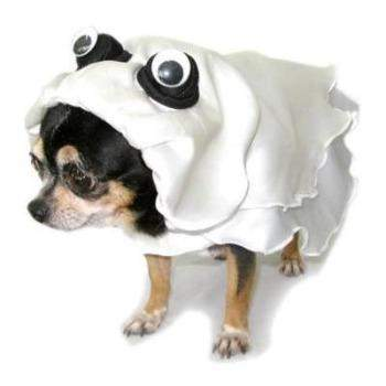 Pampet Puppe Love Ghost Dog Costume-Paws & Purrs Barkery & Boutique