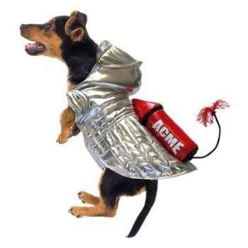 Pampet Puppe Love Rocket Space Dog Costume-Paws & Purrs Barkery & Boutique