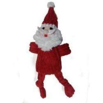 "Corduroy Santa 10"" Dog Toy-Paws & Purrs Barkery & Boutique"