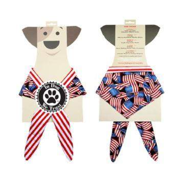 In Dog We Trust American Flag Bandanna