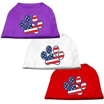 Mirage Patriotic Paw Dog T-Shirt-Paws & Purrs Barkery & Boutique