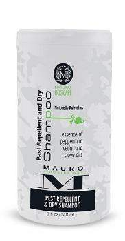 Mauro Pet Care Pest Repellant and Dry Dog Shampoo-Paws & Purrs Barkery & Boutique