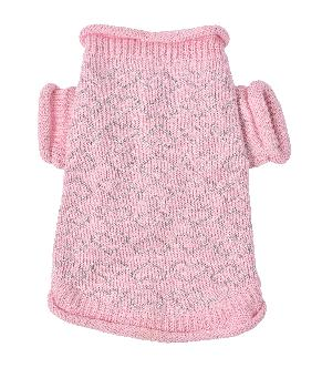 Oscar Newman Pink Heart to Heart Dog Sweater-Paws & Purrs Barkery & Boutique