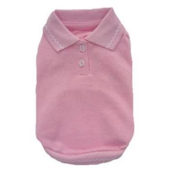 Pampet Puppe Love Pink Sleeveless Polo Shirt-Paws & Purrs Barkery & Boutique