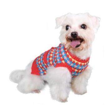 Pooch Outfitters Zoe Dog Sweater - Orange- Paws & Purrs Barkery & Boutique