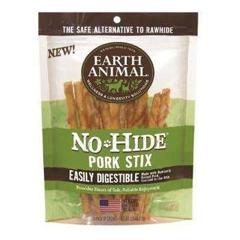 Earth Animal No Hide Pork Chews Dog Treats, 10 Pack-Paws & Purrs Barkery & Boutique