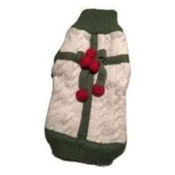 "Canine Brands ""Presents"" Christmas Dog Sweater-Paws & Purrs Barkery & Boutique"