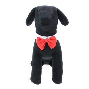 Doggie Design Red Satin Dog Bowtie Collar-Paws & Purrs Barkery & Boutique