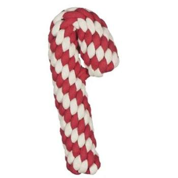 Hugglehounds Candy Cane Rope Dog Toy-Paws & Purrs Barkery & Boutique