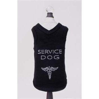 Hello Doggie Service Dog T-Shirt-Paws & Purrs Barkery & Boutique