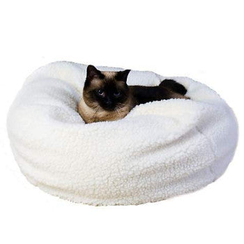 Carolina Pet Company Sherpa Puff Ball Dog Cat Bed-Paws & Purrs Barkery & Boutique