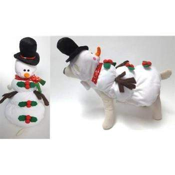 Pampet Puppe Love Snowman Dog Costume-Paws & Purrs Barkery & Boutique