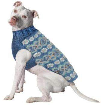 Chilly Dog Teal Alpaca Dog Sweater-Paws & Purrs Barkery & Boutique