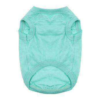 Doggie Design Teal Cotton Dog Tank Top Shirt-Paws & Purrs Barkery & Boutique