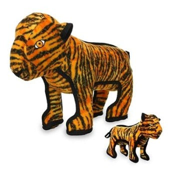 Tuffy® Zoo Series - Tatters Tiger Dog Toy-Paws & Purrs Barkery & Boutique