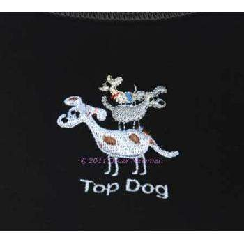Truly Oscar Top Dog Tee-Paws & Purrs Barkery & Boutique