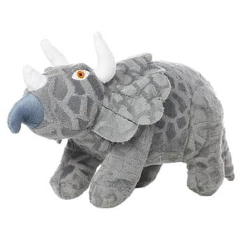 Mighty® Dinosaur Series - Triceratops Dog Toy-Paws & Purrs Barkery & Boutique