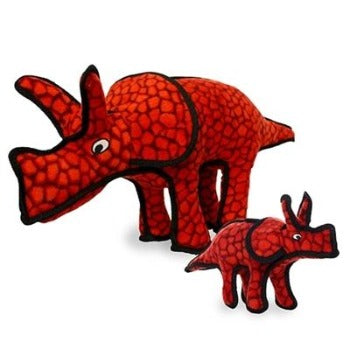 Tuffy® Dinosaur Series - Triceratops Dog Toy-Paws & Purrs Barkery & Boutique
