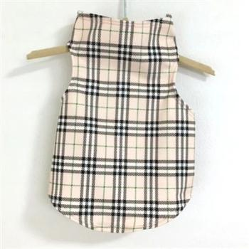 Daisy & Lucy London Plaid Wrapper Dog Top-Paws & Purrs Barkery & Boutique