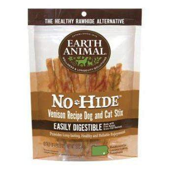 Earth Animal No Hide Venison Chews Dog Treats, 10 Pack-Paws & Purrs Barkery & Boutique