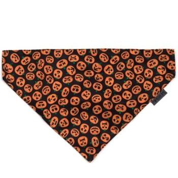 The Worthy Dog Jack-O-Lantern Dog Bandana-Paws & Purrs Barkery & Boutique