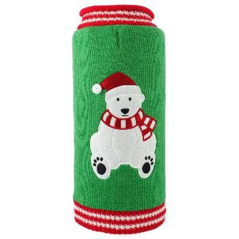 The Worthy Dog Christmas Bear Dog Sweater-Paws & Purrs Barkery & Boutique