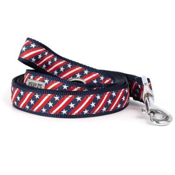 Bias Stars and Stripes Dog Collar & Leash Collection