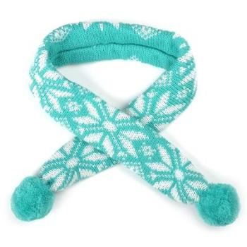 The Worthy Dog Teal Ski Lodge Dog Scarf-Paws & Purrs Barkery & Boutique