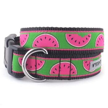 The Worthy Dog Watermelon Dog Collar & Leash-Paws & Purrs Barkery & Boutique