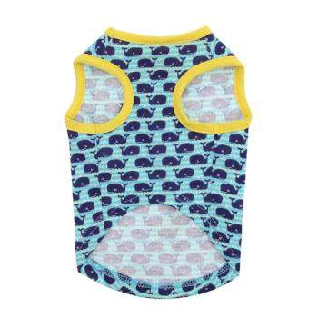 Zack & Zoey Whale Tails Dog Tank-Paws & Purrs Barkery & Boutique