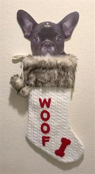Dallas Dogs Woof Dog Stocking-Paws & Purrs Barkery & Boutique