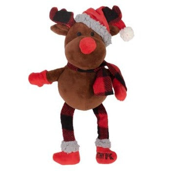 Worthy Dog Buffalo Reindeer Dog Toy-Paws & Purrs Barkery & Boutique