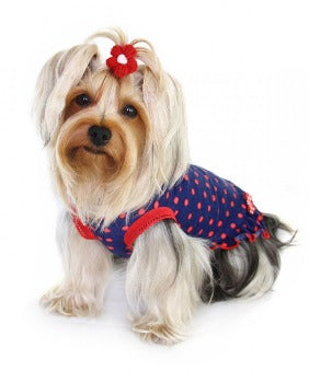 Hip Doggie Betty Polka Dot Dog Dress-Paws & Purrs Barkery  & Boutique