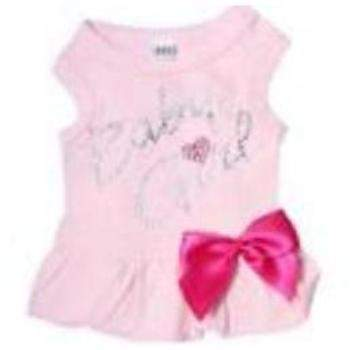Hello Doggie Pink Baby Girl Dog Dress-Paws & Purrs Barkery & Boutique