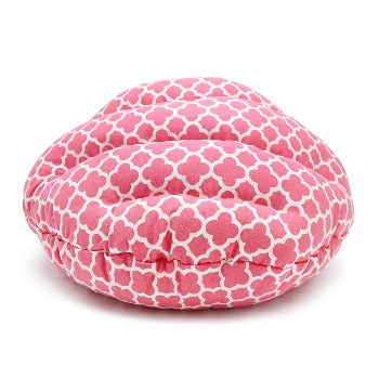 Dogo Burger Dog Bed Geo Diamond Pink-Paws & Purrs Barkery & Boutique