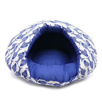 Dogo Burger Dog Bed Fish-Paws & Purrs Barkery & Boutique