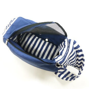 Dogo Blue Sling Dog Carrier Bag-Paws & Purrs Barkery & Boutique