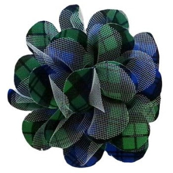 Huxley & Kent Blackwatch Plaid Dog Collar Flower-Paws & Purrs Barkery & Boutique