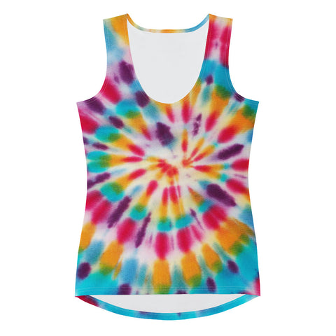 Women's Tie Dye Tank Top