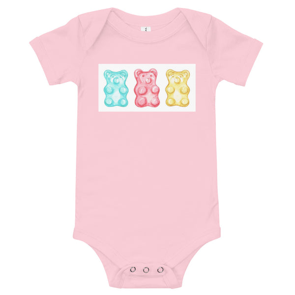 Baby LUV TED Gummy Bear Short Sleeve One Piece