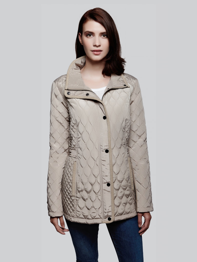 Quilted Barn Jacket Sebby Clothing