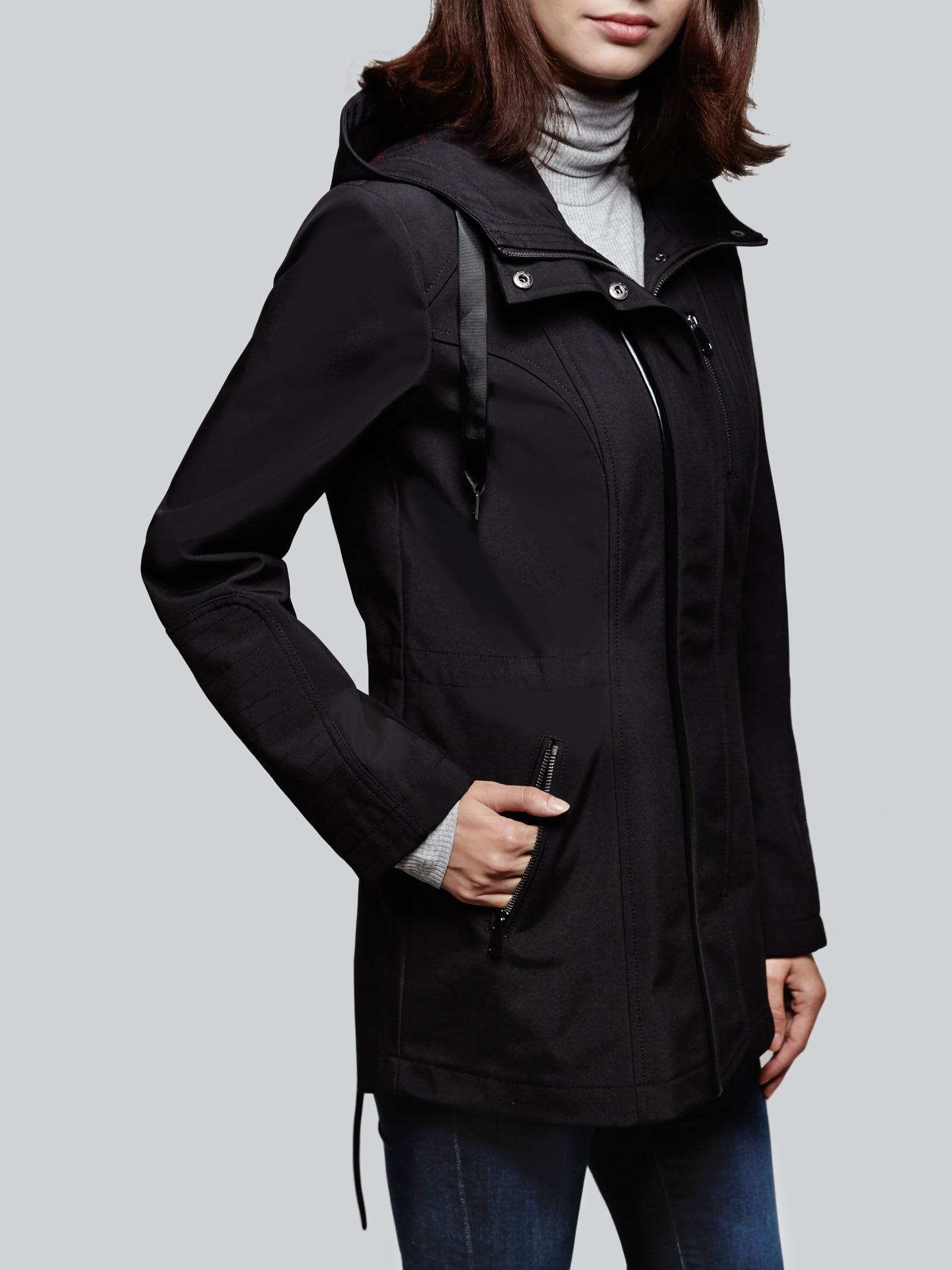 Soft Shell Anorak Coat